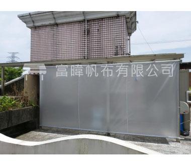 遮雨棚(垂直式)