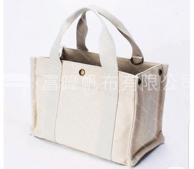 客製提袋-綿紗布(米色、草色)