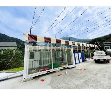 貨櫃屋系列 - 伸縮遮雨棚