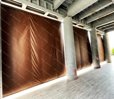 垂直遮雨棚/遮陽網