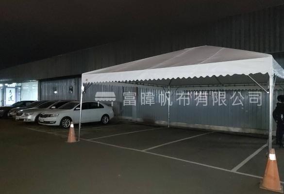 台北SKODA汽車訂購宮廷帳篷