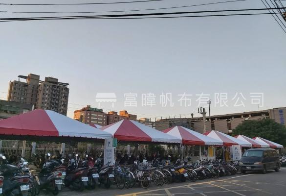 竹北火車站客製宮廷帳篷